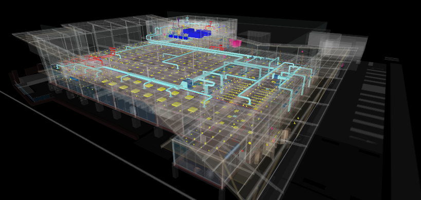 Electrical Substation 3D In Autocad Drawing Bibliocad