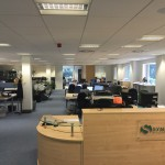 New office layout